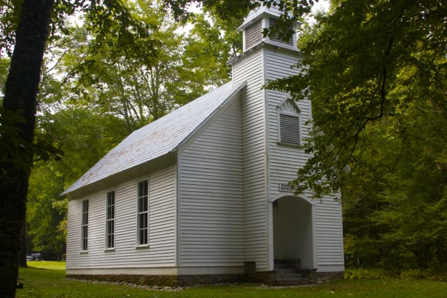 Palmer Chapel Cataloochee Valley