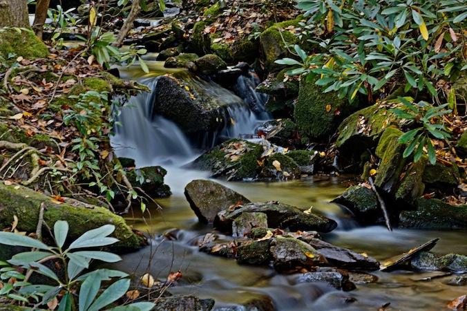 Mingo Falls creek