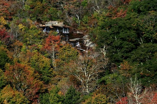 Blue Ridge Parkway Second Falls