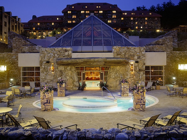 Grove Park Inn Spa Outdoor Pool