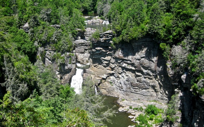 Linville Falls Plunge