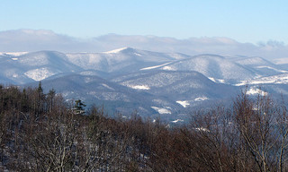 Winter Blue Ridge Parkway