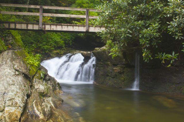 Skinny Dip Falls Bridge