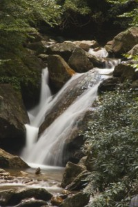 Skinny Dip Falls Upper Area