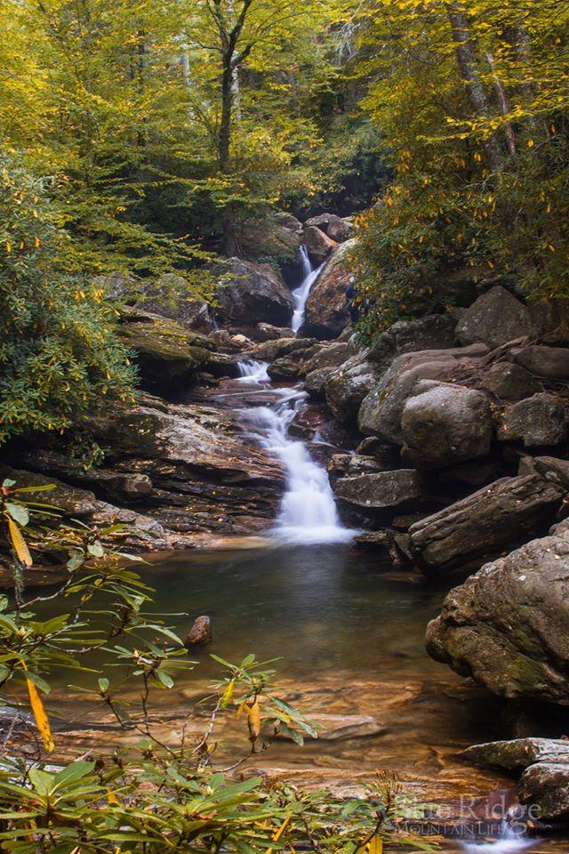 Fall at Skinny Dip Falls