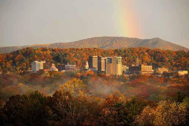 Fall Asheville NC