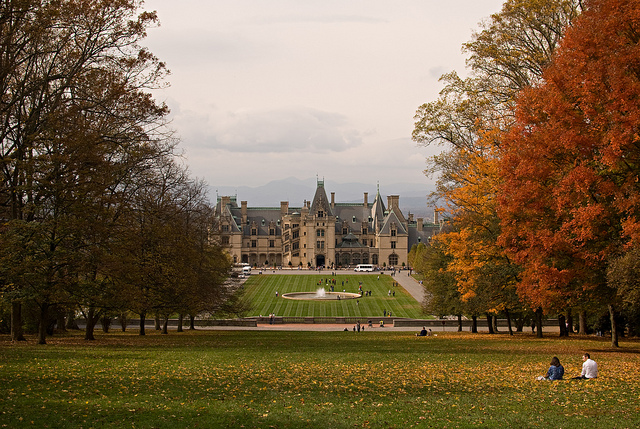 Biltmore House Fall