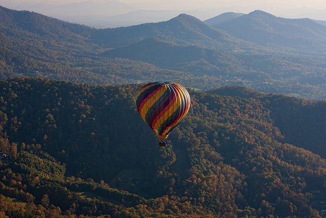 Fall Foliage Hot Air Balloon