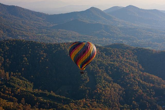 Fall Foliage Hot Air Balloon