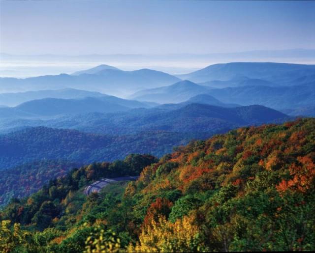 Fall Blue Ridge GA