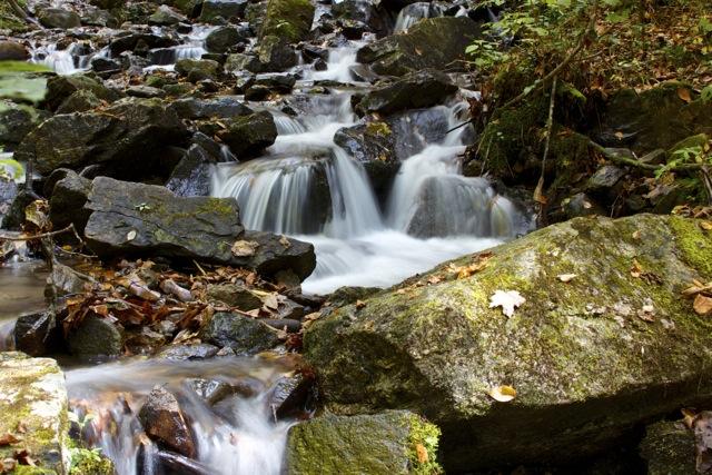 Below Soco Falls