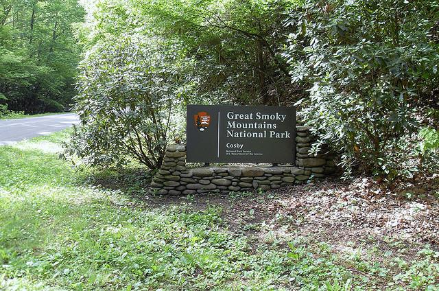 Cosby TN Entrance