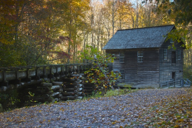 Fall at Mingus Mill