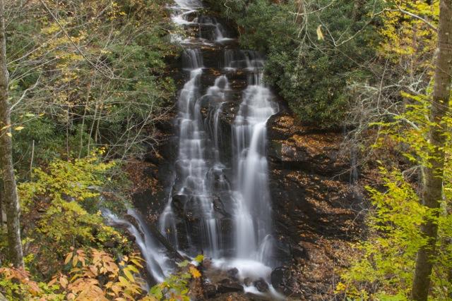Soco Falls Fall