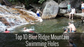 Top 10 Blue Ridge Mountain Swimming Holes