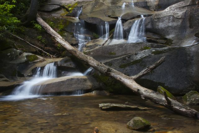 Below Cove Creek Falls