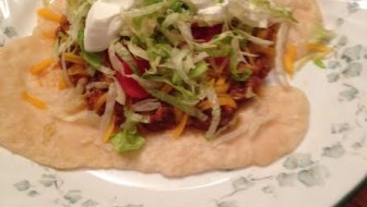 Cherokee Indian Taco Recipe