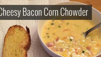 Cheesy Bacon Corn Chowder