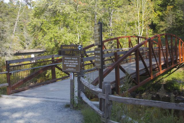 Triple Falls Trail Bridge