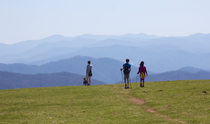 Max Patch Hiking – Hot Springs, NC