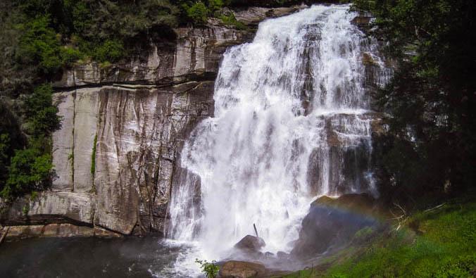 Rainbow Falls NC