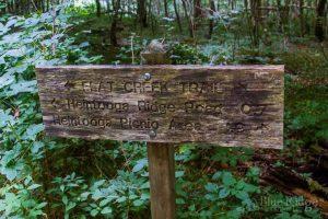 Flat Creek Trail Sign