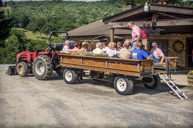 Cataloochee Ranch - Wagon Ride