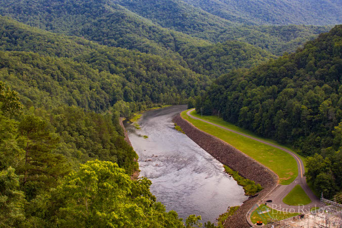 Fontana Dam Edge