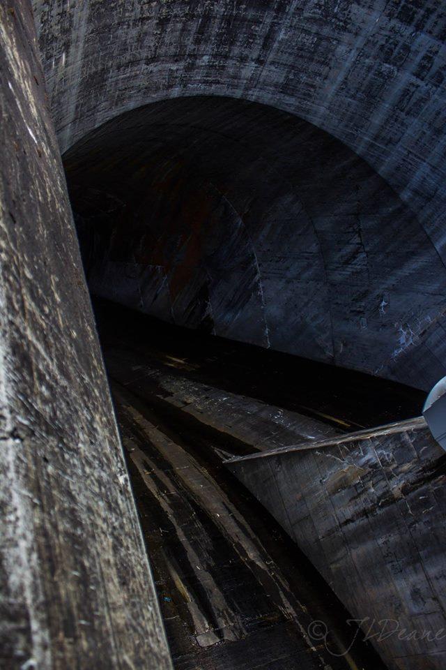 Fontana Dam Spillway