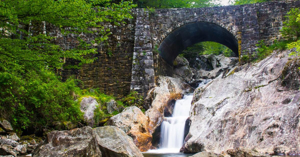 Sunburst Falls North Carolina Blue Ridge Mountain Life