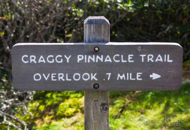 Craggy Pinnacle Trail Head