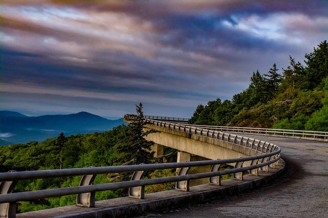 Driving Linn Cove Viaduct
