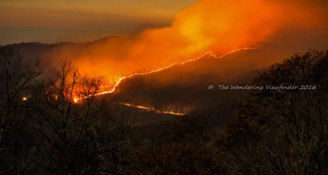 Cherokee NC Fire