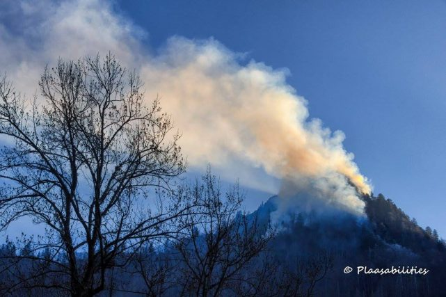 Chimney Tops Fire