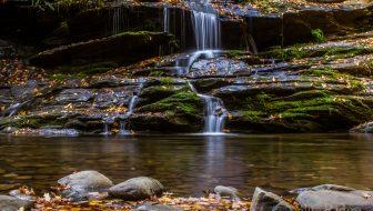 Tom Branch Falls in Deep Creek