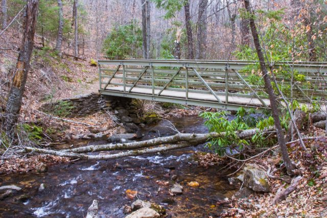 Bridge over Crabtree Creek