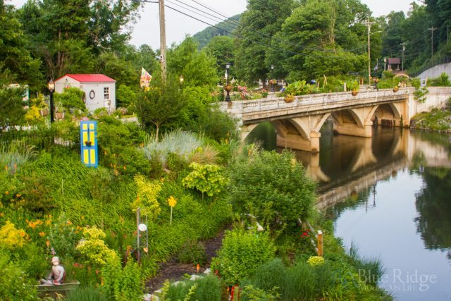 Flowering Bridge at Lake Lure