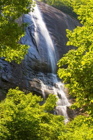 Hickory Nut Falls, Chimney Rock NC