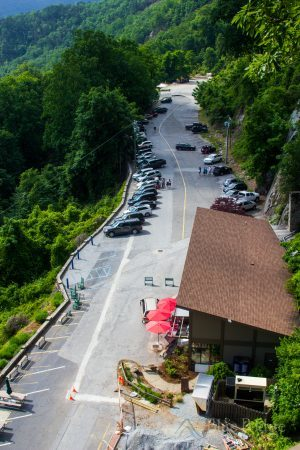 Chimney Rock Parking