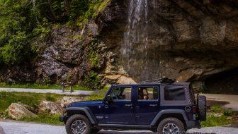 Bridal Veil Falls Highlands NC