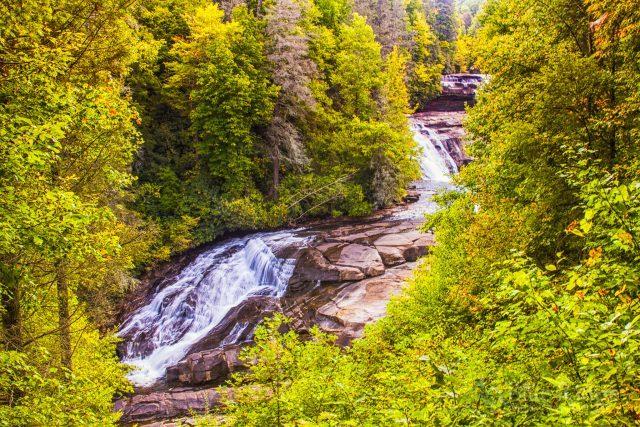 Triple Falls NC Dupont State Park - Blue Ridge Mountain Life on