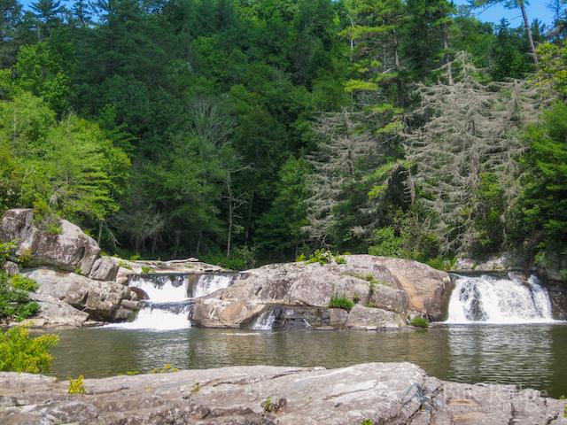 Upper Falls Linville Falls NC