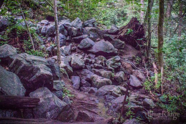 Little Bradley Falls Boulder Field