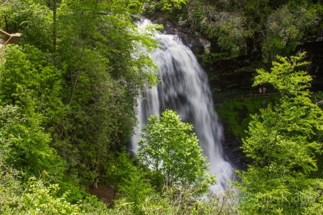 Dry Falls NC Observation Deck