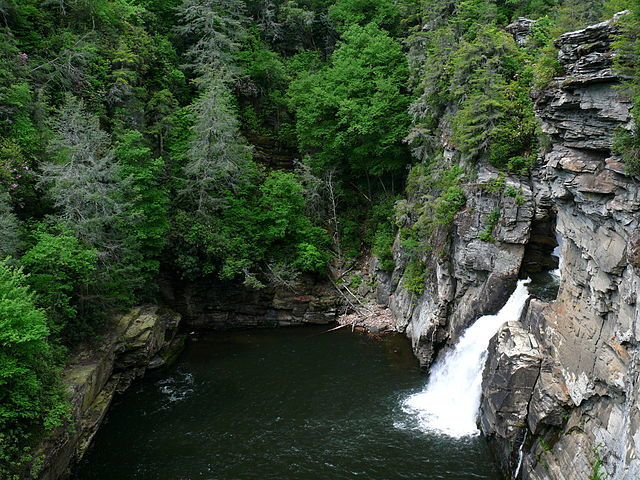 Linville Falls NC Base Overlook