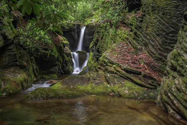 Dugger's Creek Falls