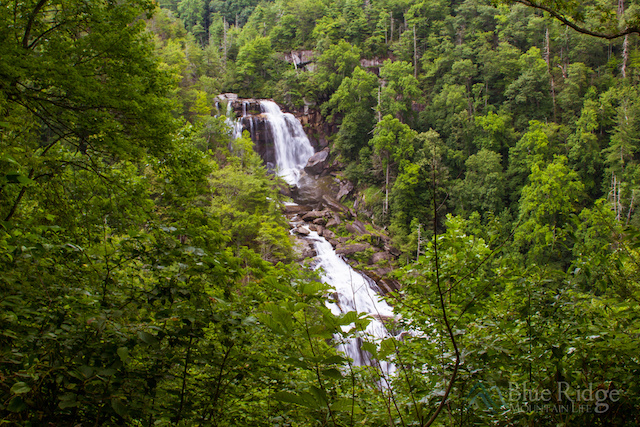 Whitewater Falls NC First View