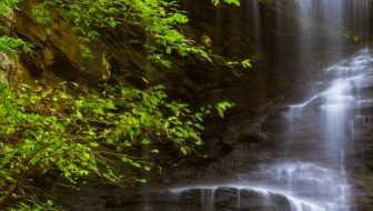 Twin Falls Pisgah National Forest