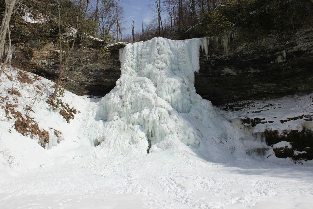 Frozen Cascade Falls Virginia