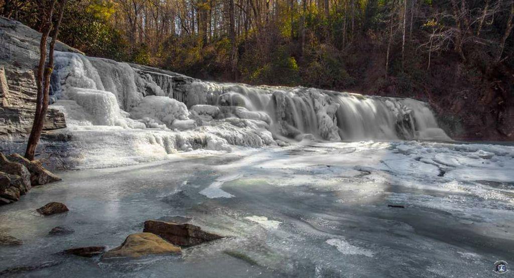 Frozen Hooker Falls